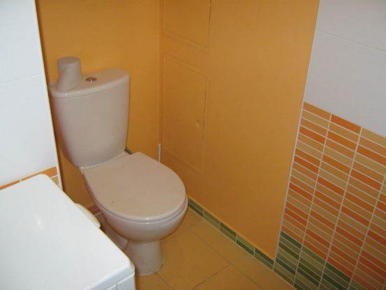 Отделка туалета гипсокартоном