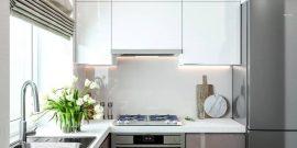 Малогабаритные кухни: стильный дизайн на пяти квадратных метрах