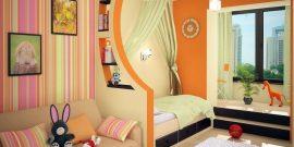 Зонирование однокомнатной квартиры на детскую и взрослую: лучшие способы с фото
