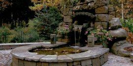 Горка-водопад своими руками из камня: фотоподборка