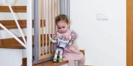 Как защитить ребёнка от падения с лестницы: подборка лучших способов
