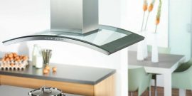 Красивые вытяжки для кухни: подборка фото