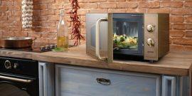 Куда поставить микроволновку в маленькой кухне: удобные места