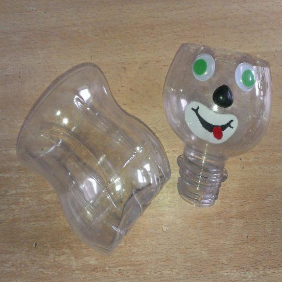 Декор пластиковой бутылки