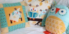 Красивые подушки в детскую: идеи на фото