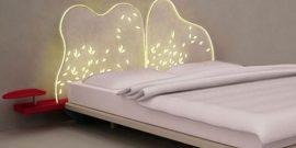 Фото кроватей с интересными спинками