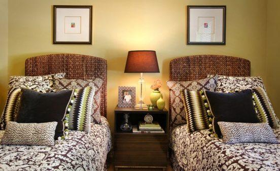 Кровати в деревенском стиле