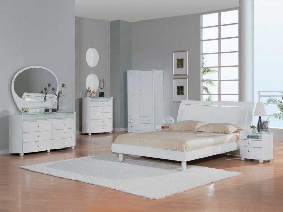 Обои к белой мебели