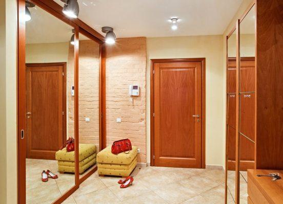 Дизайн квадратного коридора