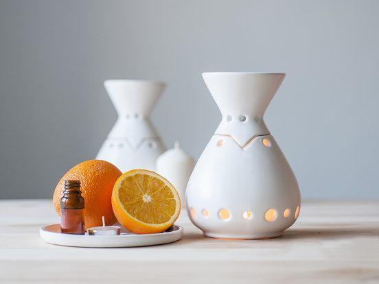 Аромалампы и апельсины