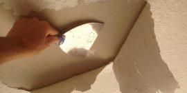 3 лучших способа очистить потолок от старой краски