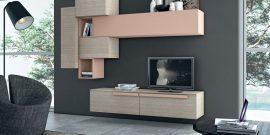 Подвесная мебель для гостиной: модные решения на фото