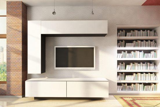 Подвесная мебель в гостиной