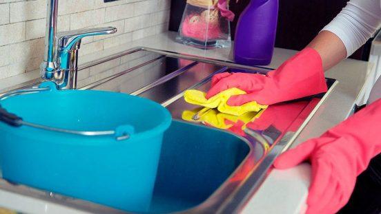 Мытьё раковины