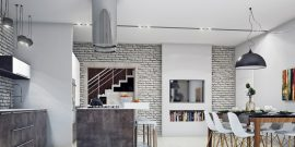 Кухня в стиле лофт: 15 идей