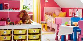 Системы хранения детских вещей: идеи для обустройства интерьера