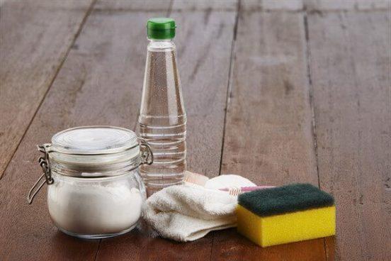уксус с содой