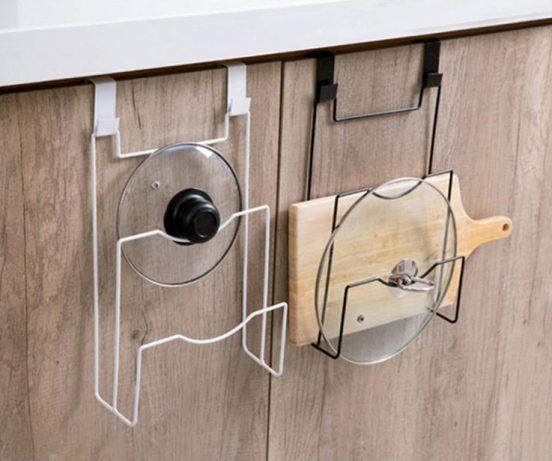 Хранение крышек от кастрюль: оригинальные идеи - Интерьер