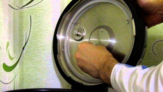 как мыть крышку мультиварки