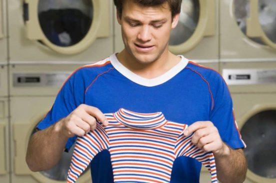 Какая одежда садится после стирки