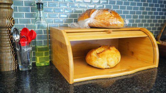 хлебница из бамбука