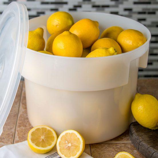 Хранение лимонов в пластиковых контейнерах