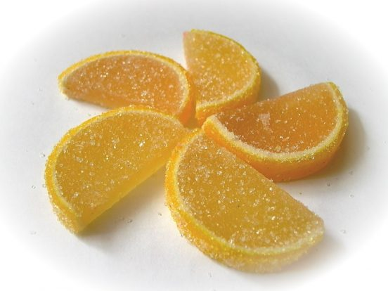 лимоны в сахаре