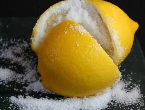 лимоны в соли