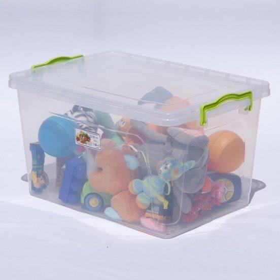 Игрушки в контейнере