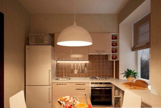 Проект кухни 8 кв. м