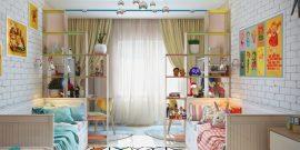 Комната для подростков брата и сестры: стильные решения