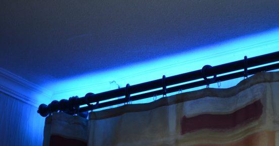 подсветка окон светодиодной лентой
