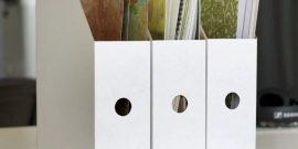 Оригинальные органайзеры для бумаг своими руками