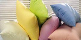 6 маленьких хитростей, как быстро постирать подушки в домашних условиях