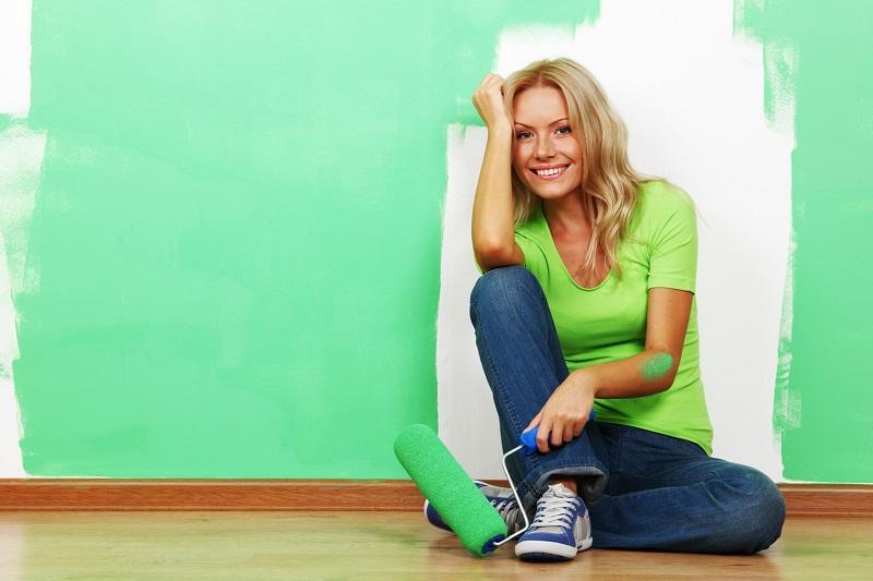 Перекрасьте стены