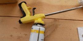Как «оживить» баллон с монтажной пеной, если она засохла: простой, но полезный способ