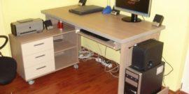 Компьютерный стол своими руками — чертежи, размеры, схемы сборки из дерева, ДСП, фанеры