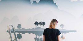 Как сделать ремонт дизайнерским с помощью росписи стен
