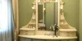 Туалетный столик своими руками — как сделать с зеркалом и подсветкой: чертежи и схемы сборки, фото