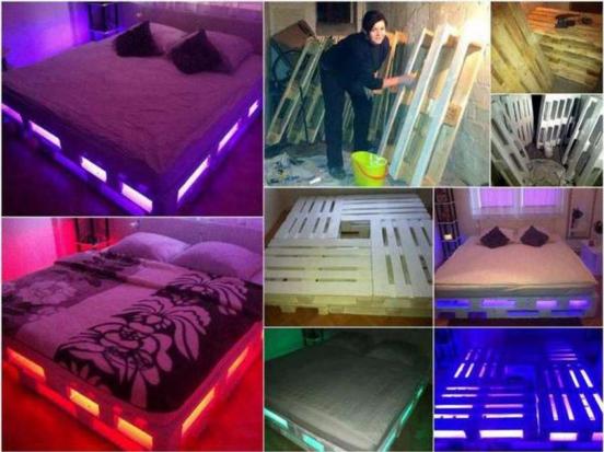 Как сделать кровать из поддонов своими руками в домашних условиях