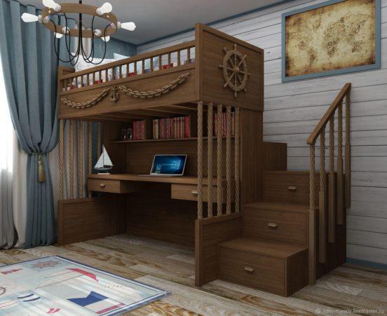 Кровать-чердак для взрослых своими руками