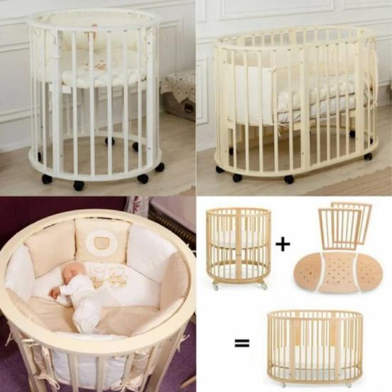 Кровати для маленьких детей.
