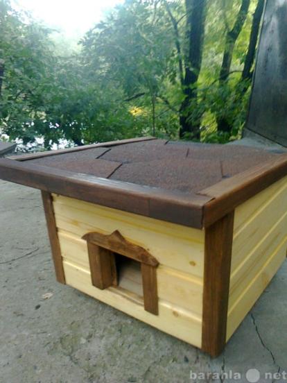 Теплый домик для кошки своими руками на даче