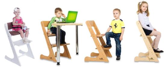 Растущий стул своими руками для ребенка