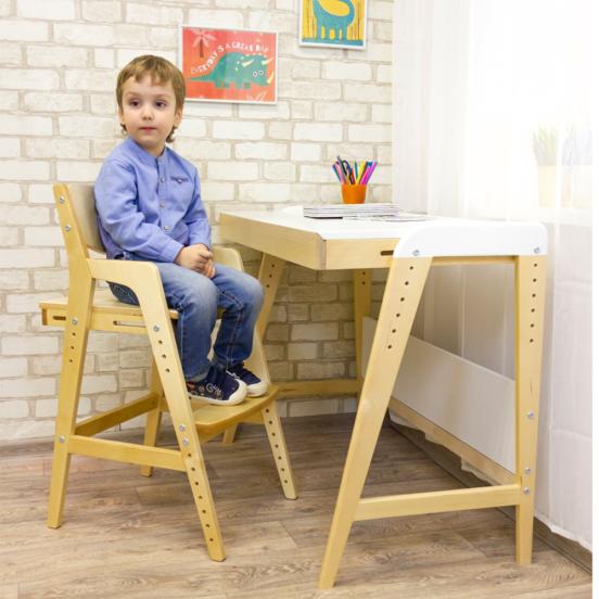 Растущий стул со столиком