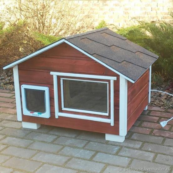 Уличный домик для кошки