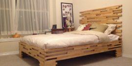 Кровать своими руками — как сделать в домашних условиях: чертежи с размерами, схемы сборки, фото