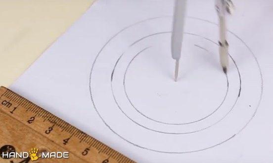 Расположение кругов