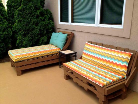 Садовый (уличный) диван